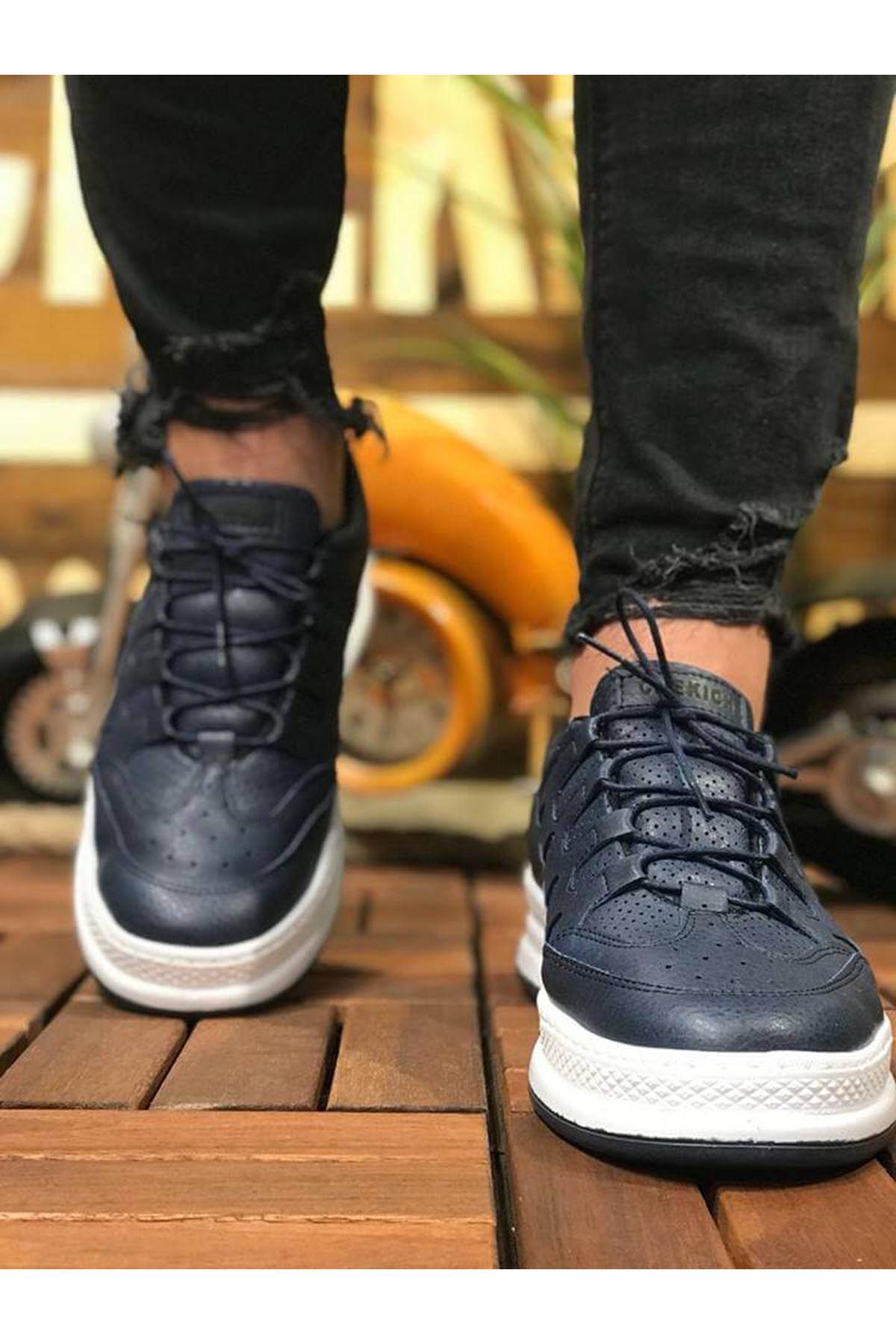 Chekich CH040 BT Erkek Ayakkabı LACIVERT