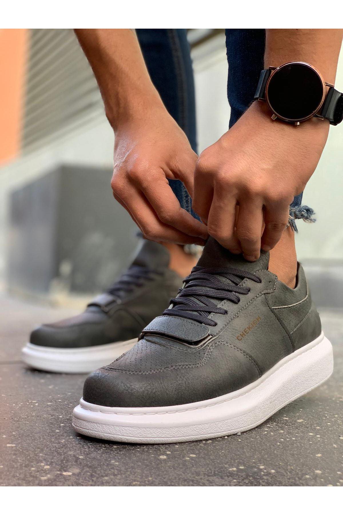 Chekich CH073 BT Erkek Ayakkabı ANTRASIT