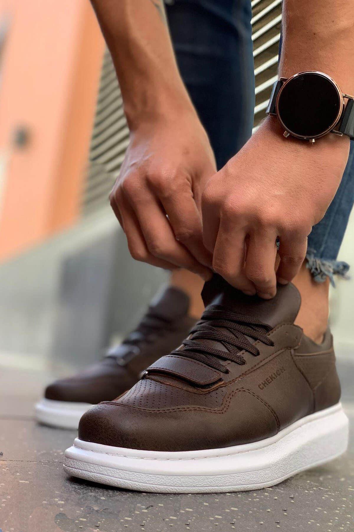 Chekich CH073 BT Erkek Ayakkabı KAHVE