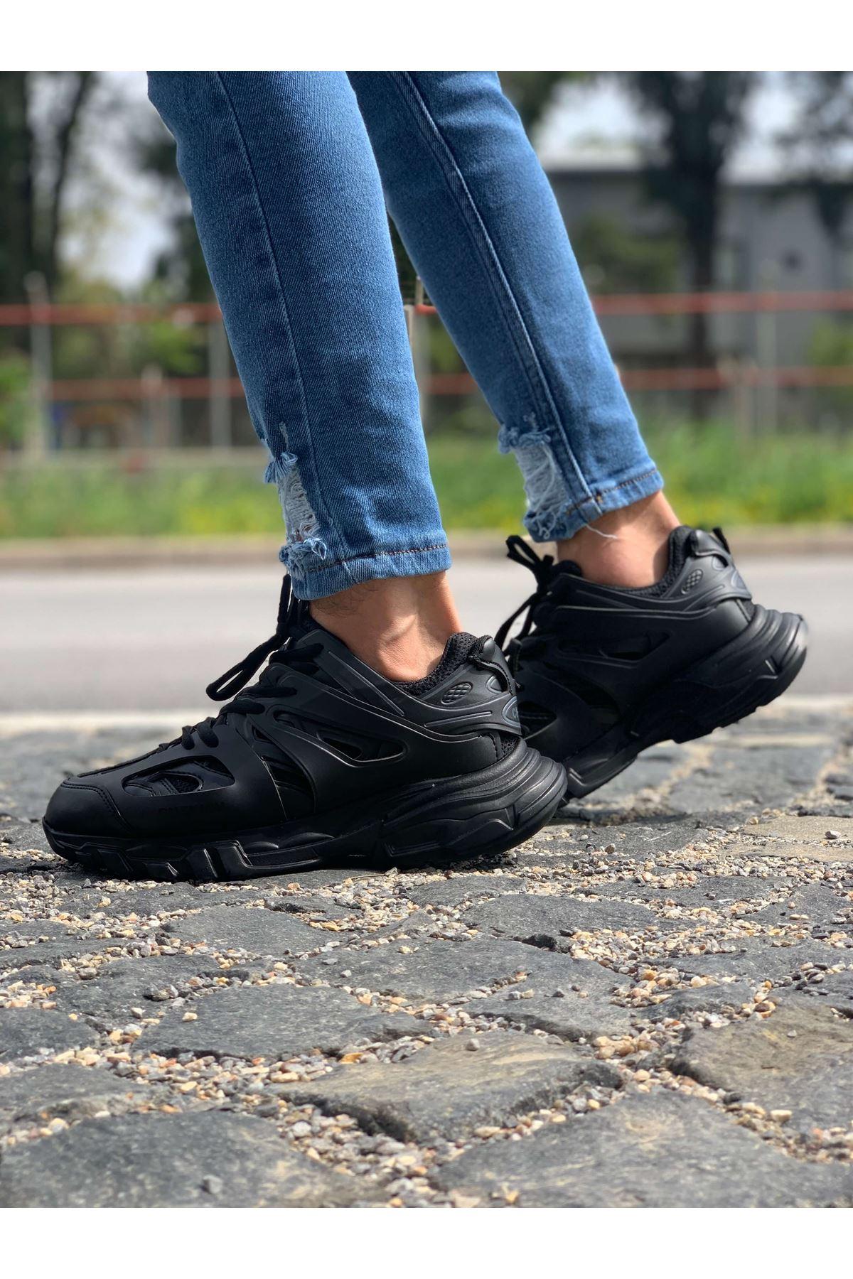 Chekich CH301 ST Erkek Ayakkabı SİYAH/SİYAH
