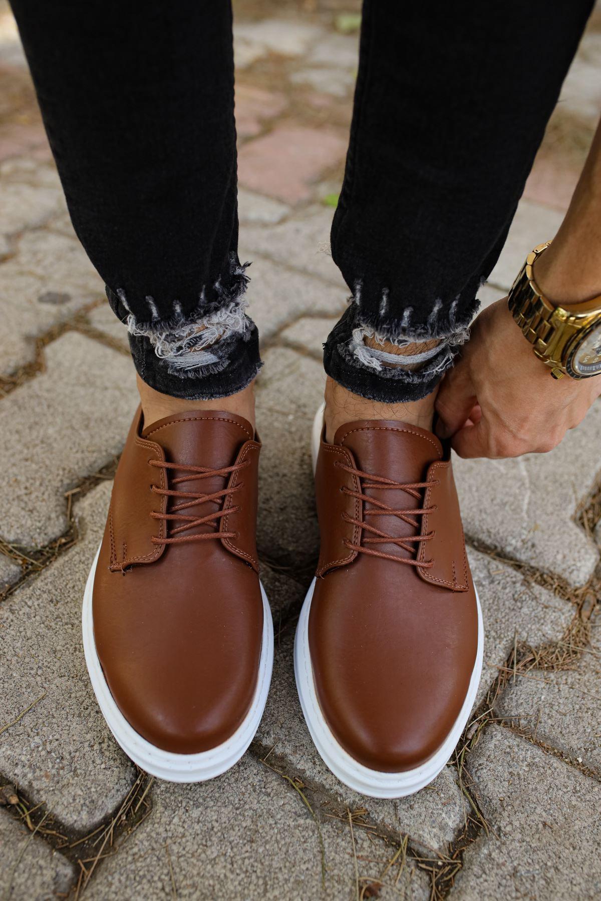 Chekich CH003 BT Erkek Ayakkabı TABA