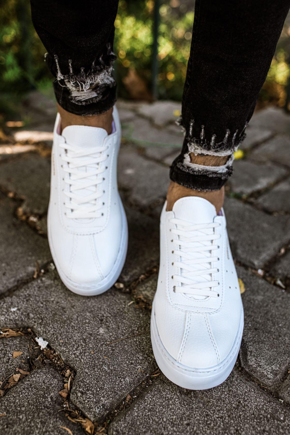 Chekich CH063 BT Erkek Ayakkabı BEYAZ