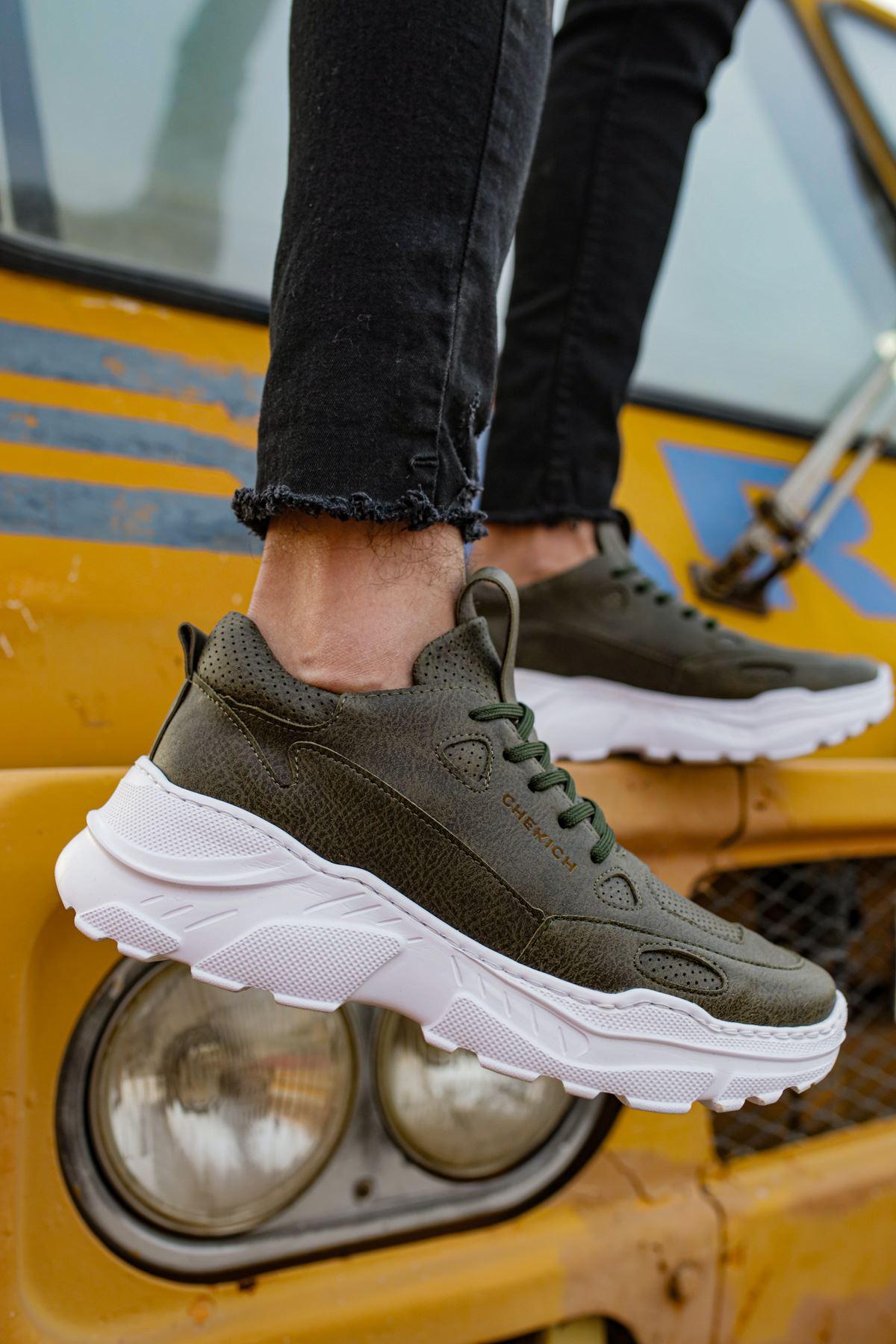 Chekich CH089 BT Erkek Ayakkabı HAKİ