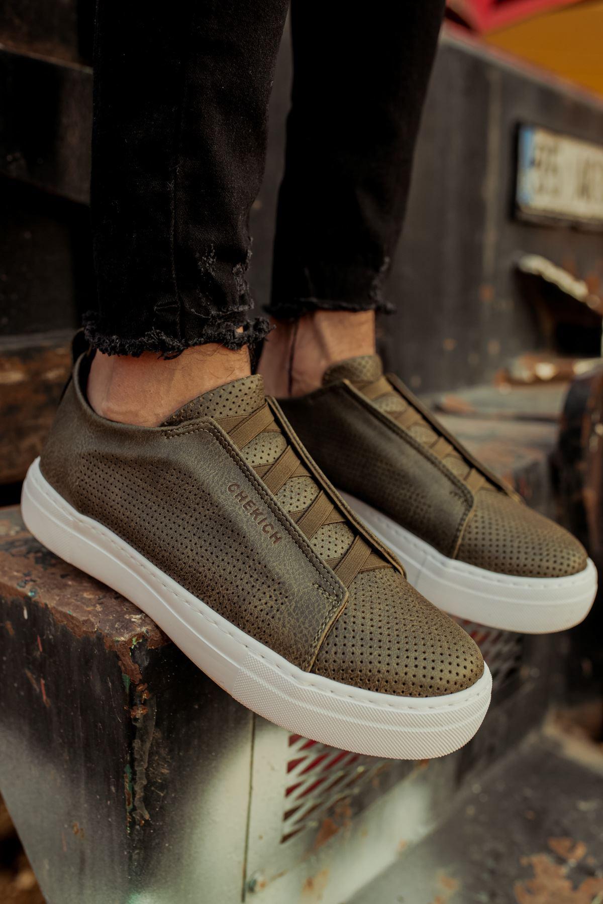 Chekich CH011 BT  Erkek Ayakkabı HAKİ