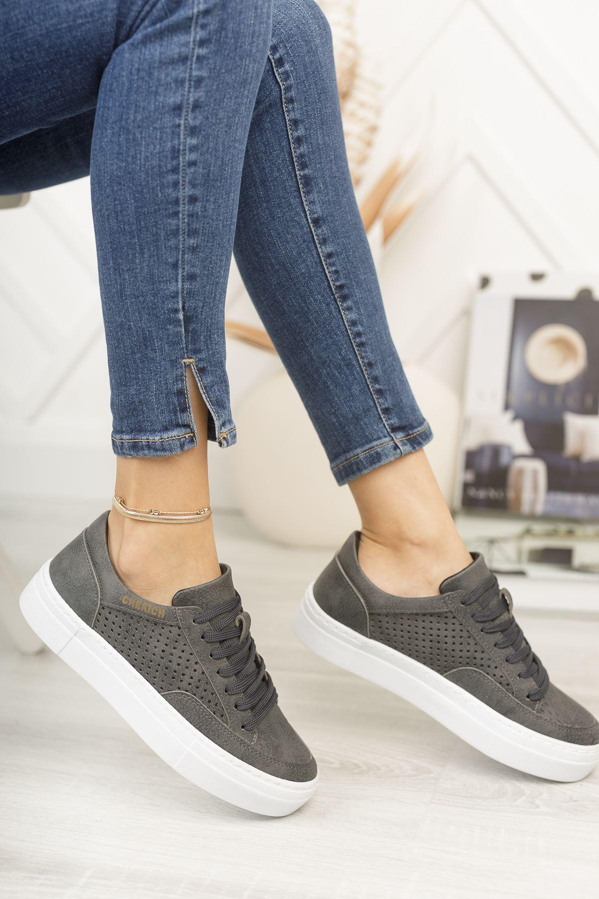 Chekich CH015 BT Kadın Ayakkabı ANTRASIT