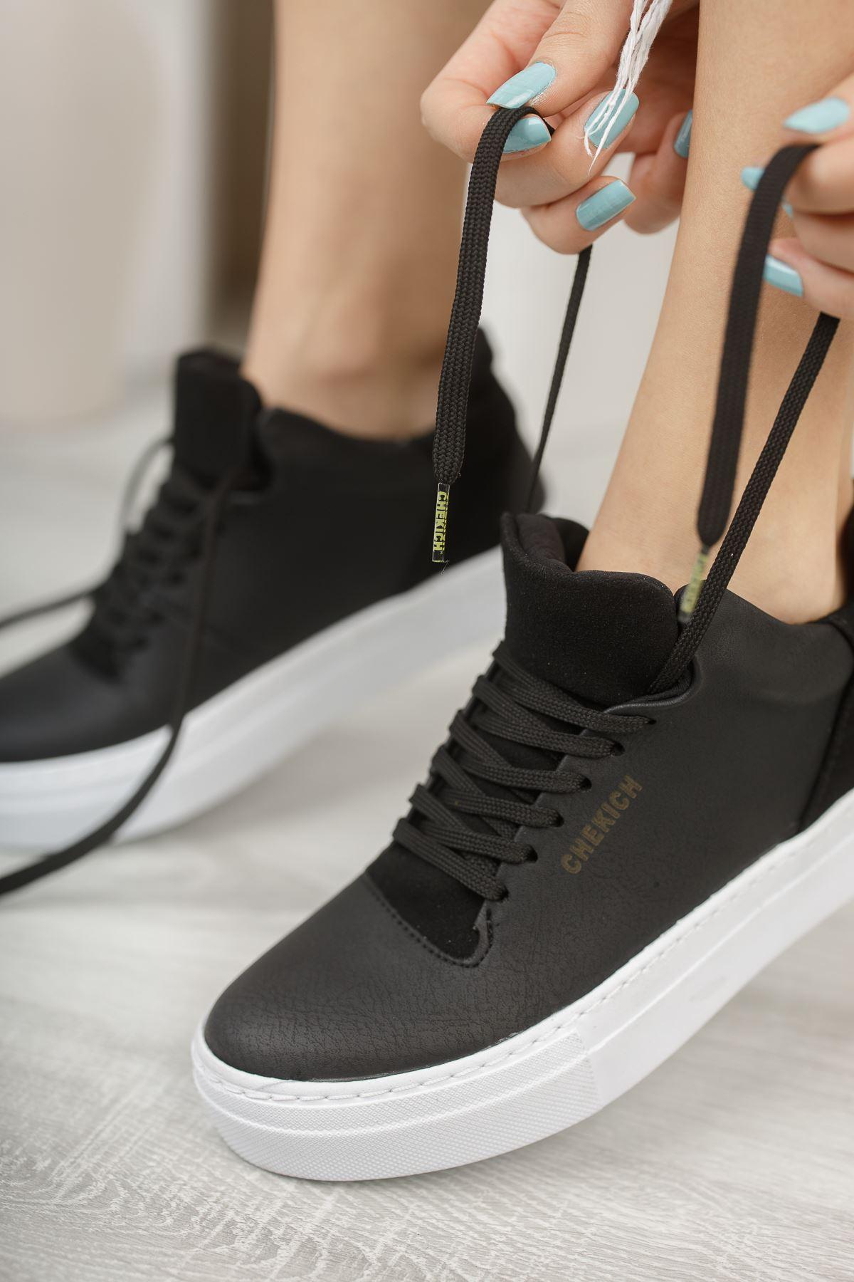 Chekich CH004 BT Kadın Ayakkabı SIYAH