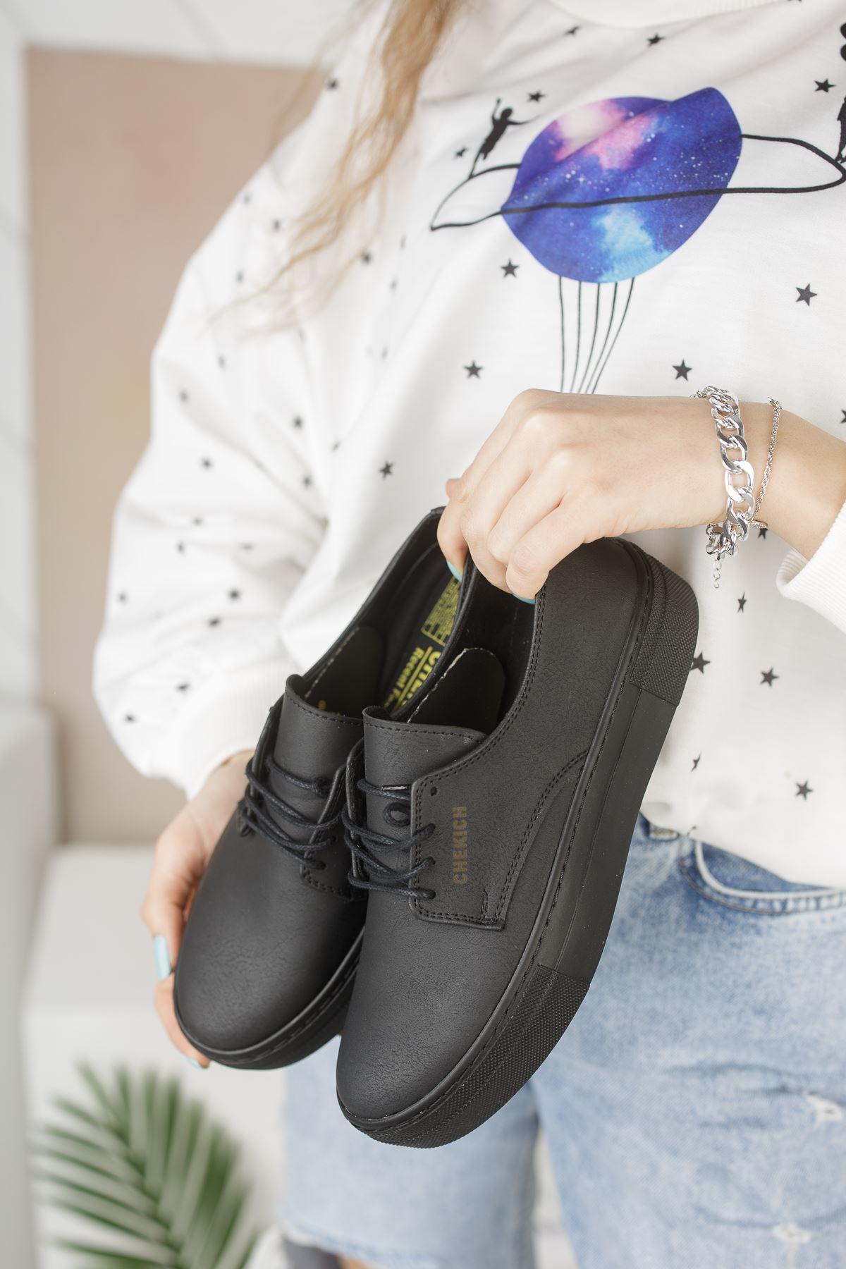 Chekich CH005 ST Kadın Ayakkabı SIYAH