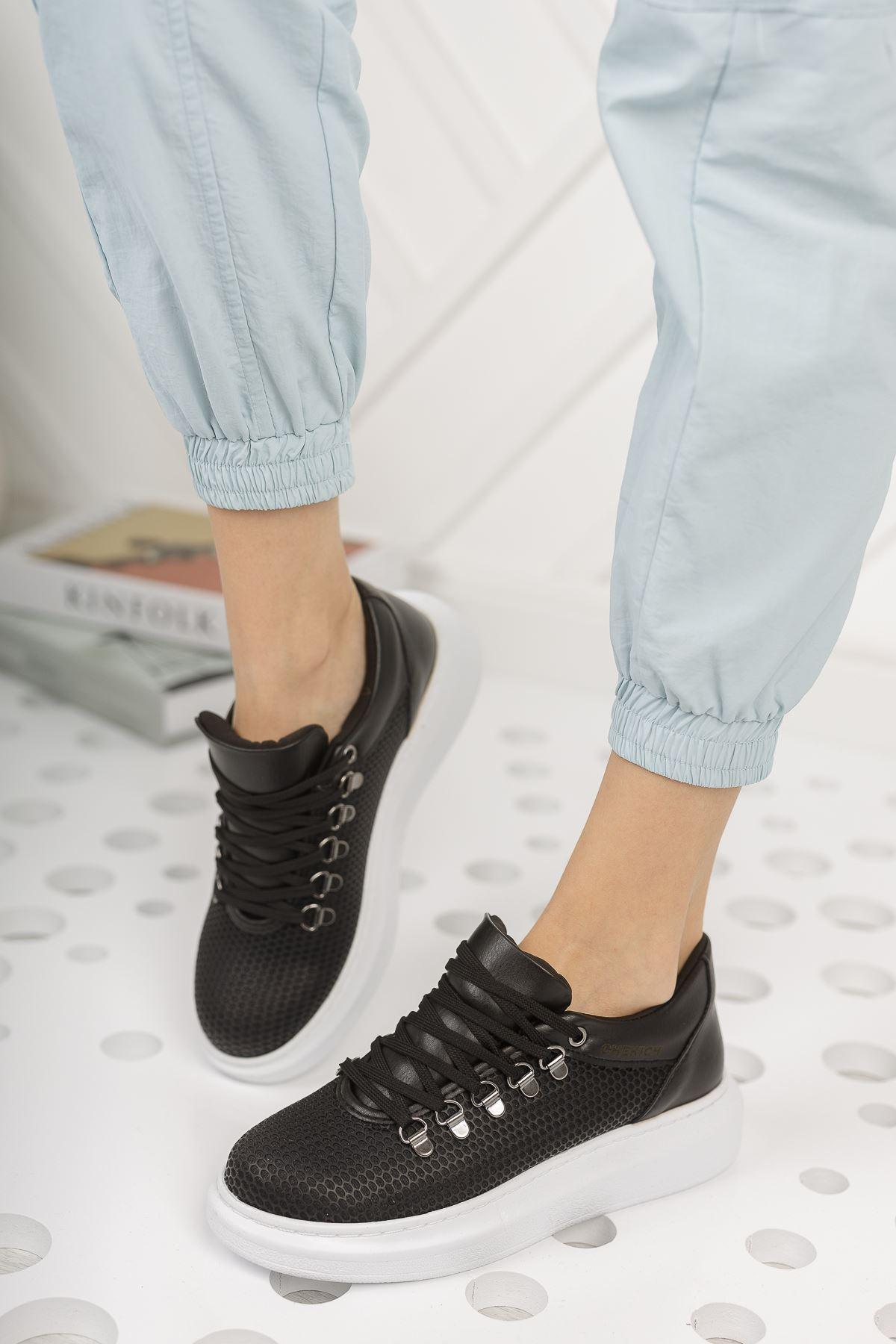 Chekich CH021 YBT Kadın Ayakkabı SIYAH