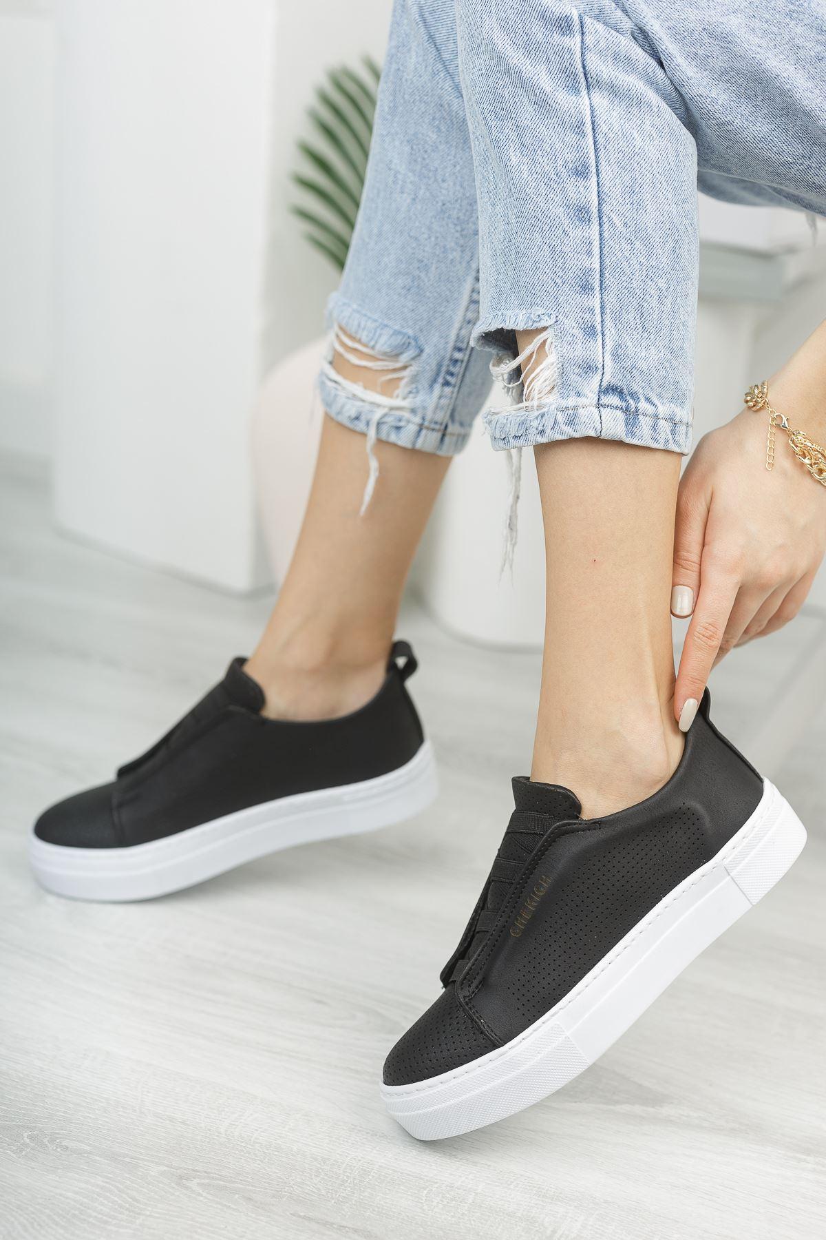 Chekich CH011 BT Kadın Ayakkabı SIYAH