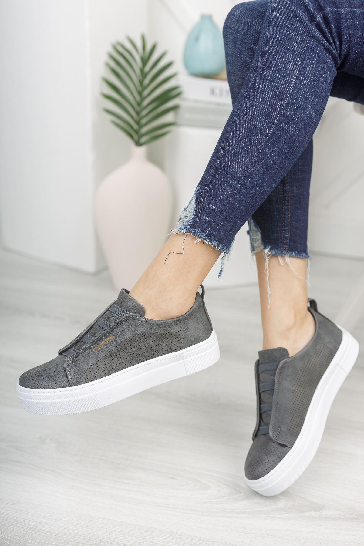 Chekich CH011 BT Kadın Ayakkabı ANTRASIT