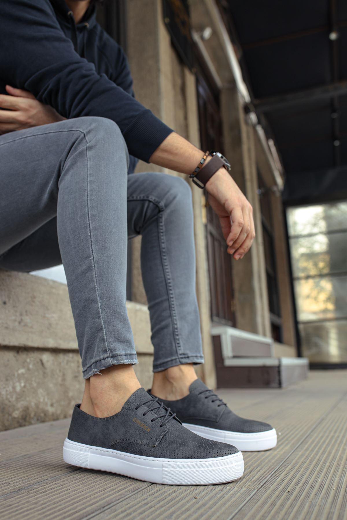 Chekich CH061 BT Erkek Ayakkabı ANTRASIT