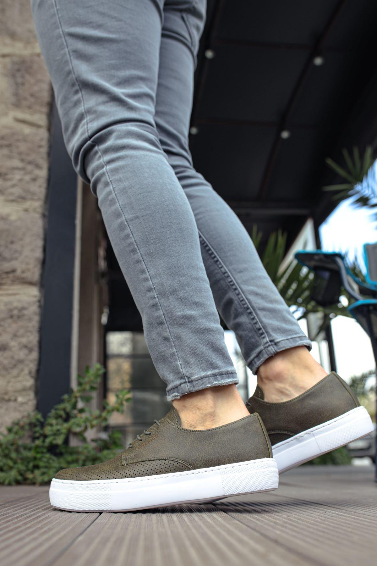 Chekich CH061 BT Erkek Ayakkabı HAKİ