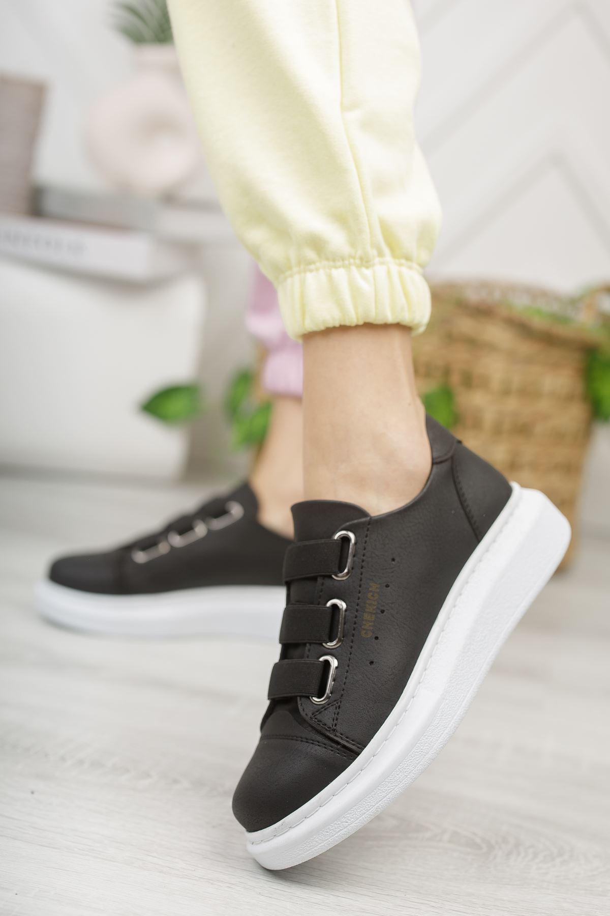 Chekich CH253 BT Kadın Ayakkabı SIYAH