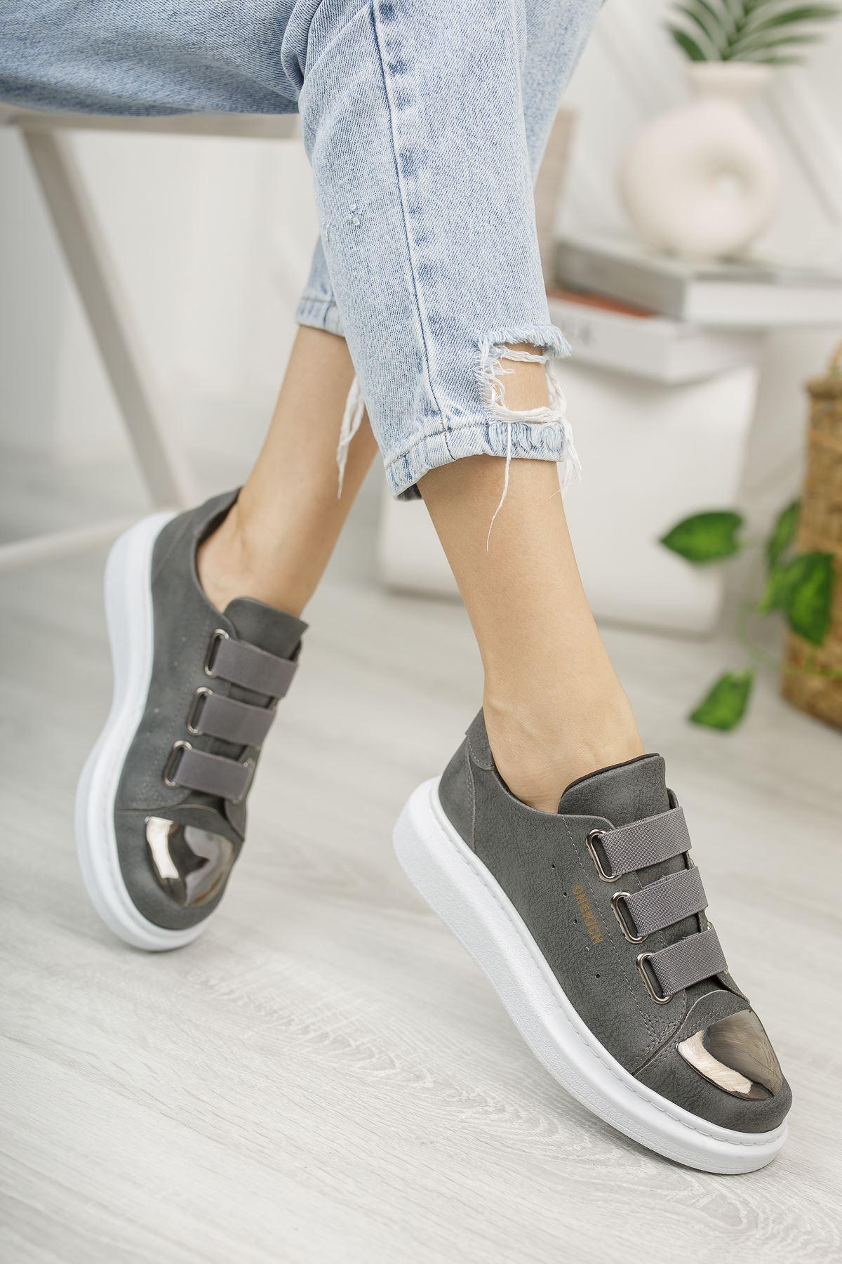 Chekich CH251 BT Kadın Ayakkabı ANTRASIT