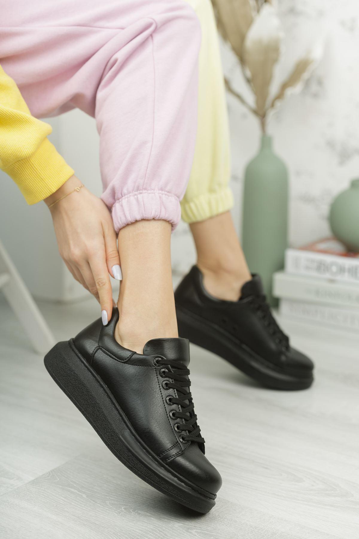 Chekich CH257 ST Kadın Ayakkabı SIYAH