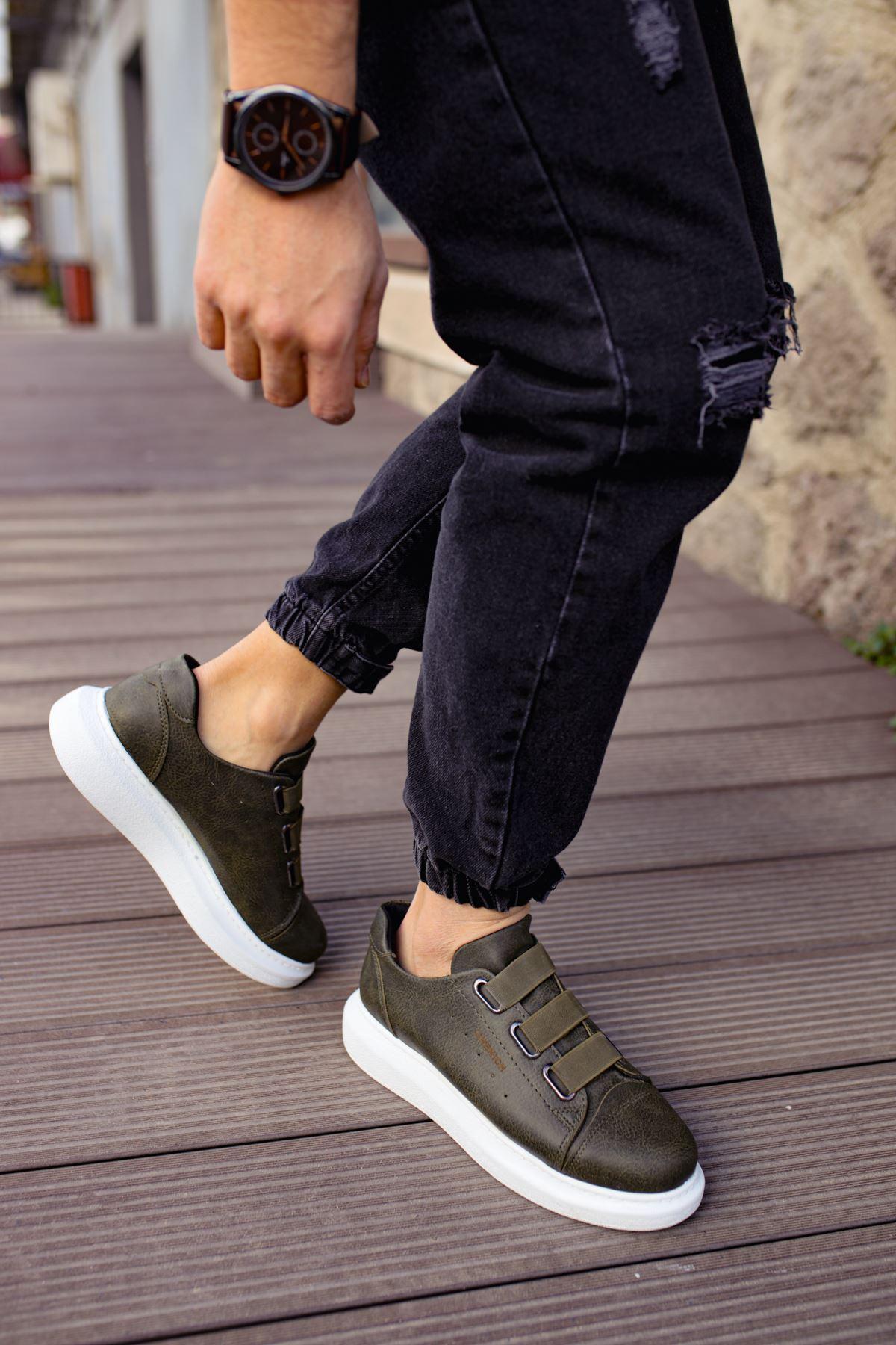 Chekich CH253 BT Erkek Ayakkabı HAKİ