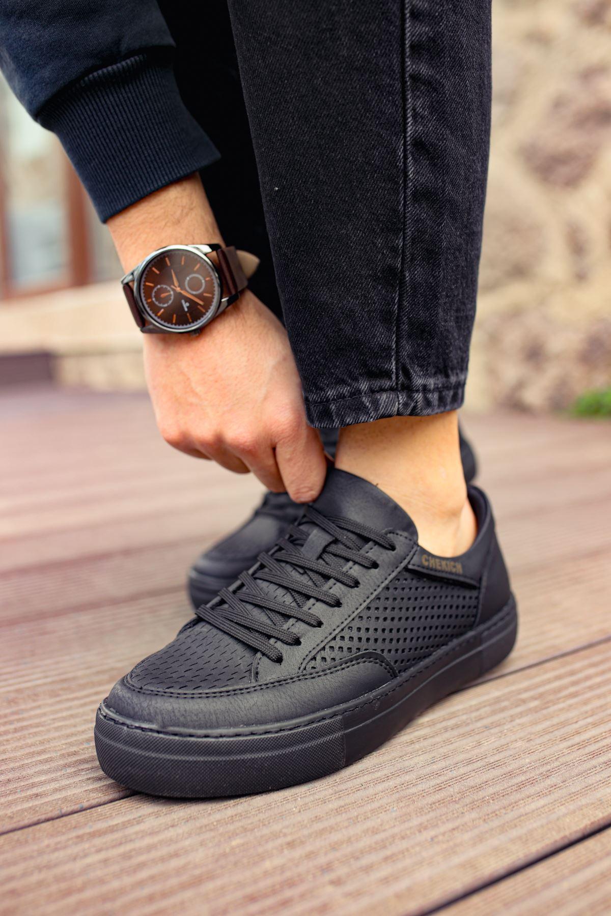 Chekich CH015 ST Erkek Ayakkabı SIYAH