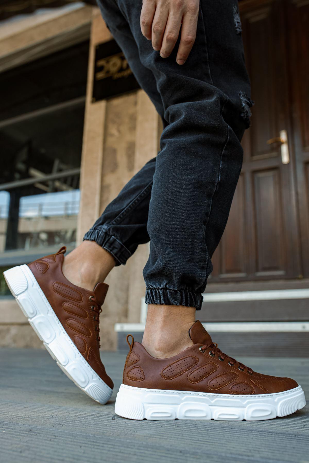 Chekich CH105 BT Erkek Ayakkabı TABA