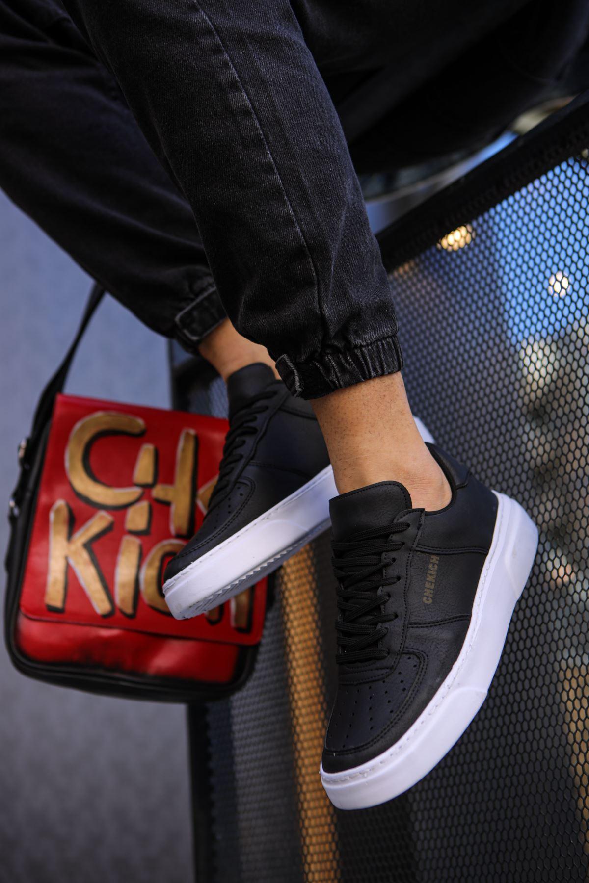Chekich CH087 BT Erkek Ayakkabı SİYAH/SİYAH