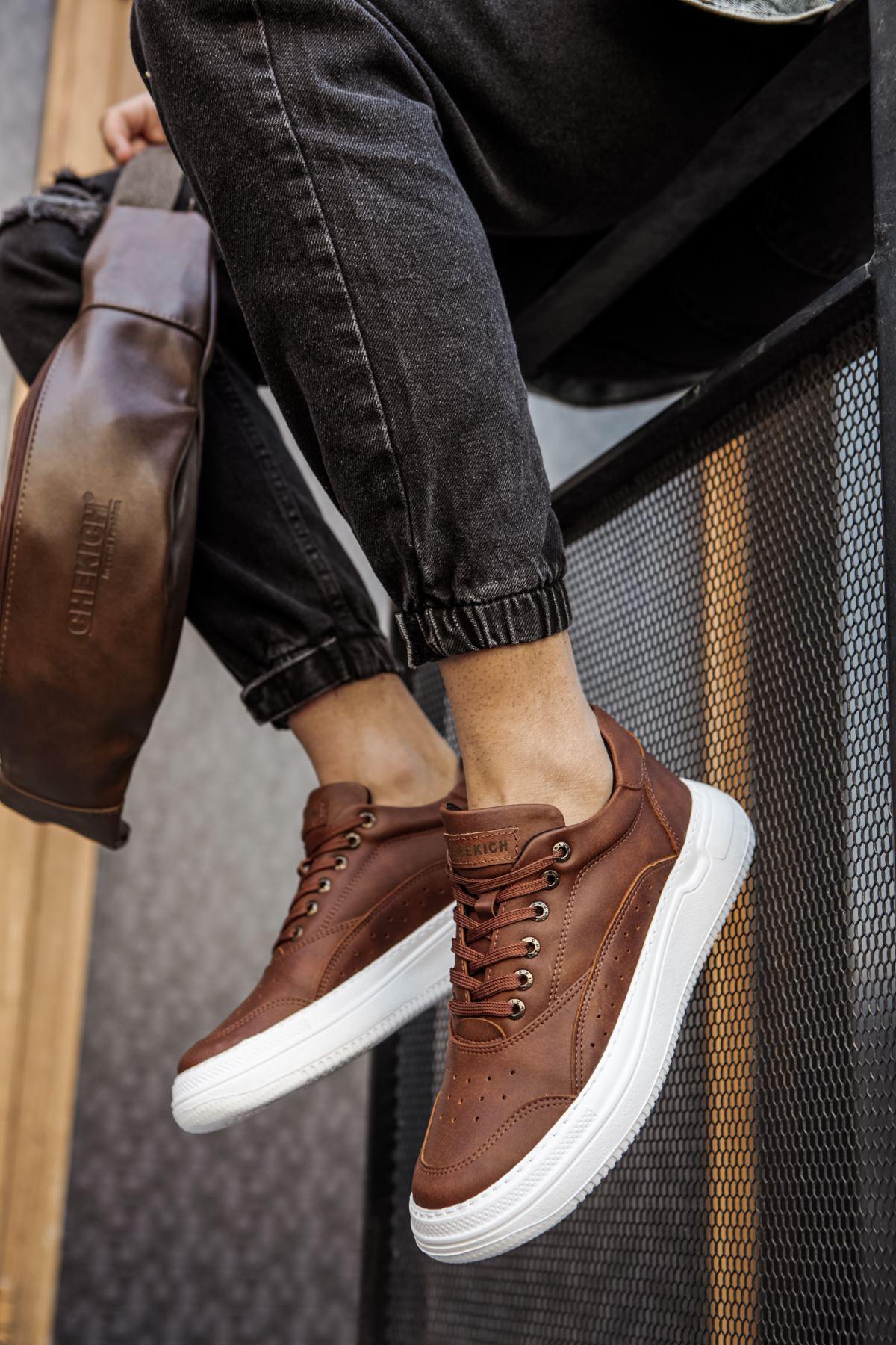 Chekich CH115 İpk. BT Erkek Ayakkabı TABA