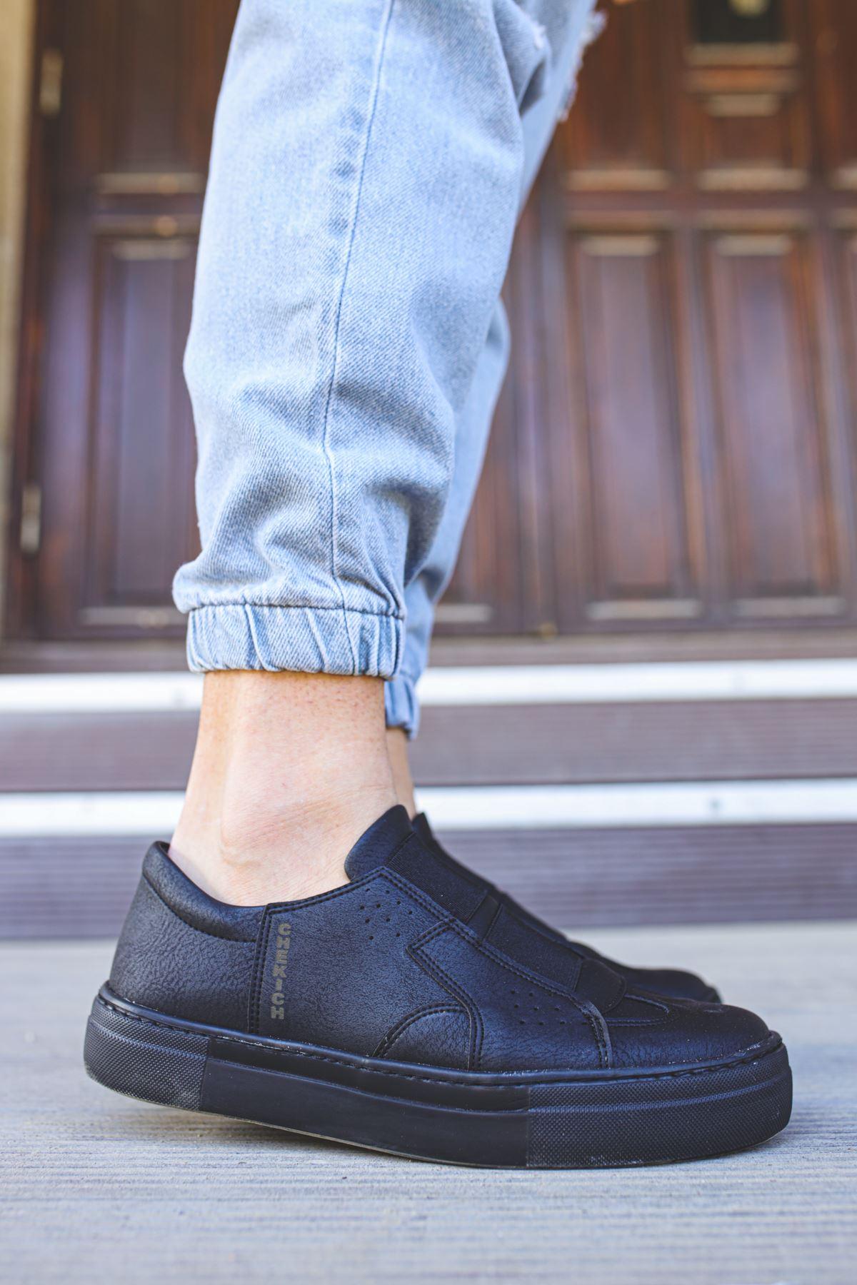 Chekich CH033 ST Erkek Ayakkabı SIYAH