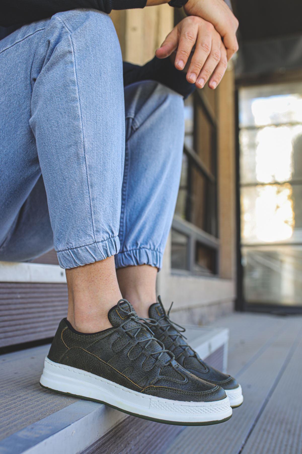 Chekich CH040 BT Erkek Ayakkabı HAKİ