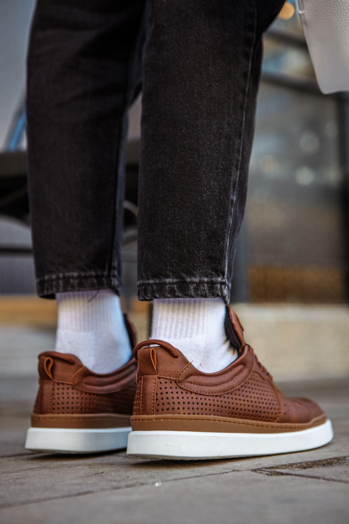 Chekich CH109 İpk BT Erkek Ayakkabı TABA