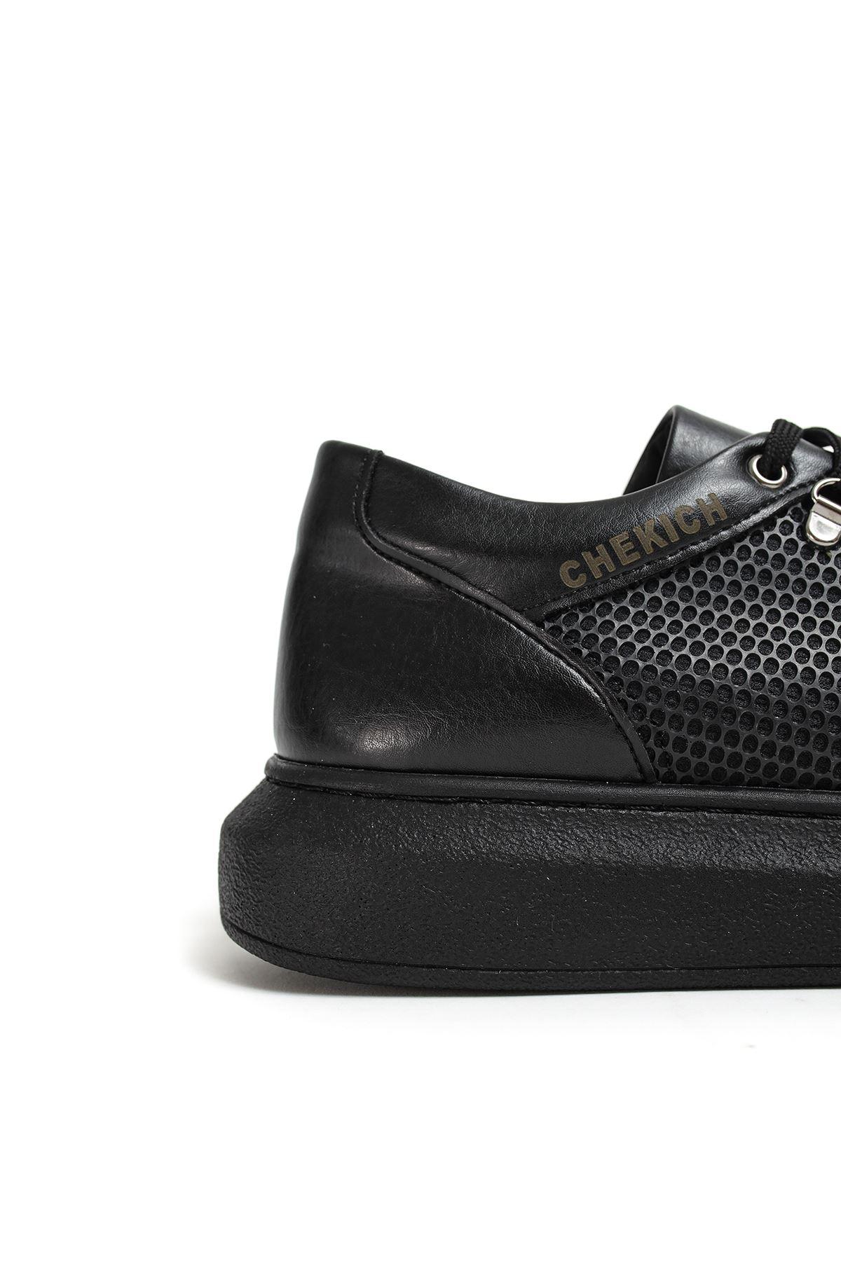 Chekich CH021 YST Erkek Ayakkabı SIYAH