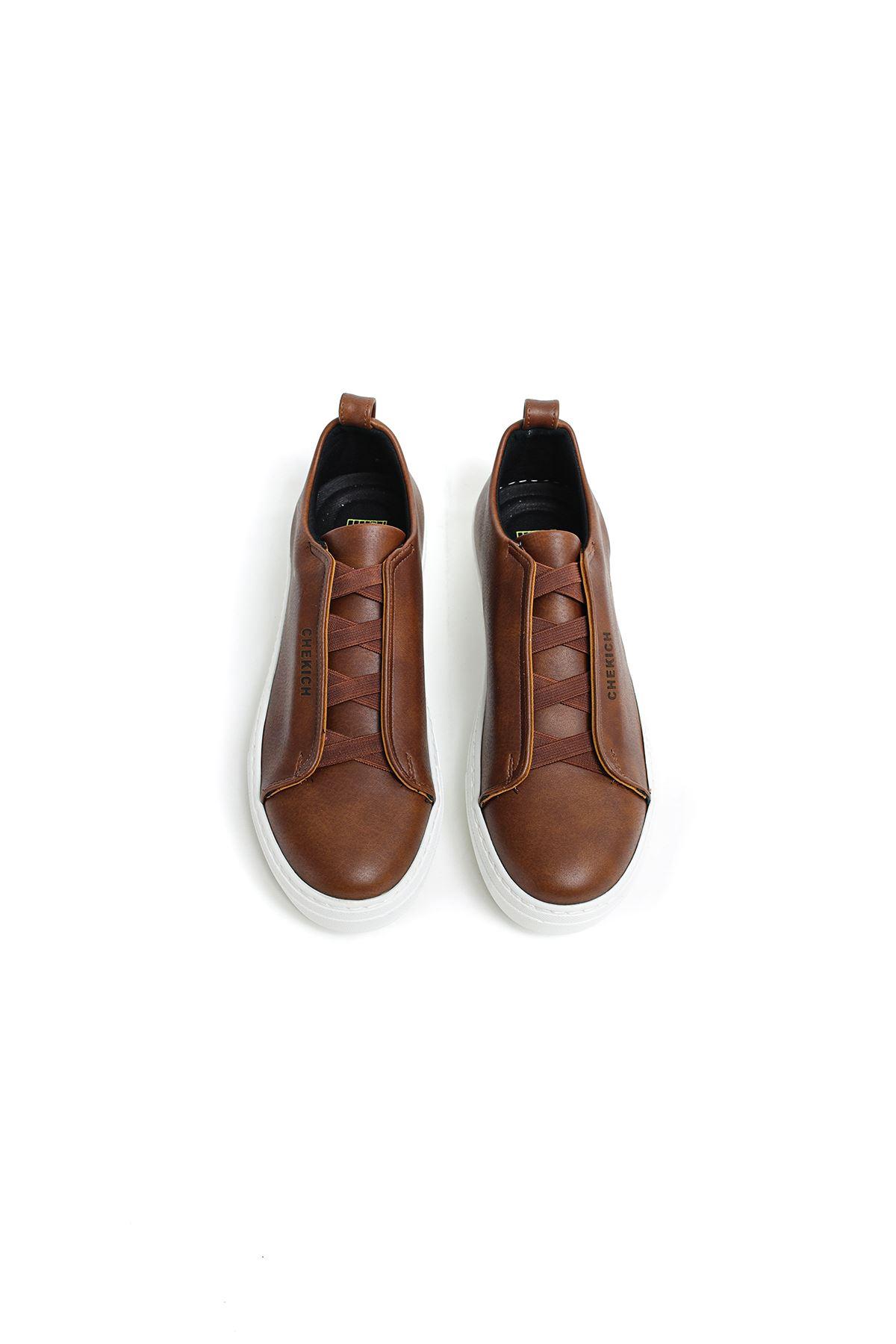 Chekich CH013 BT Erkek Ayakkabı TABA