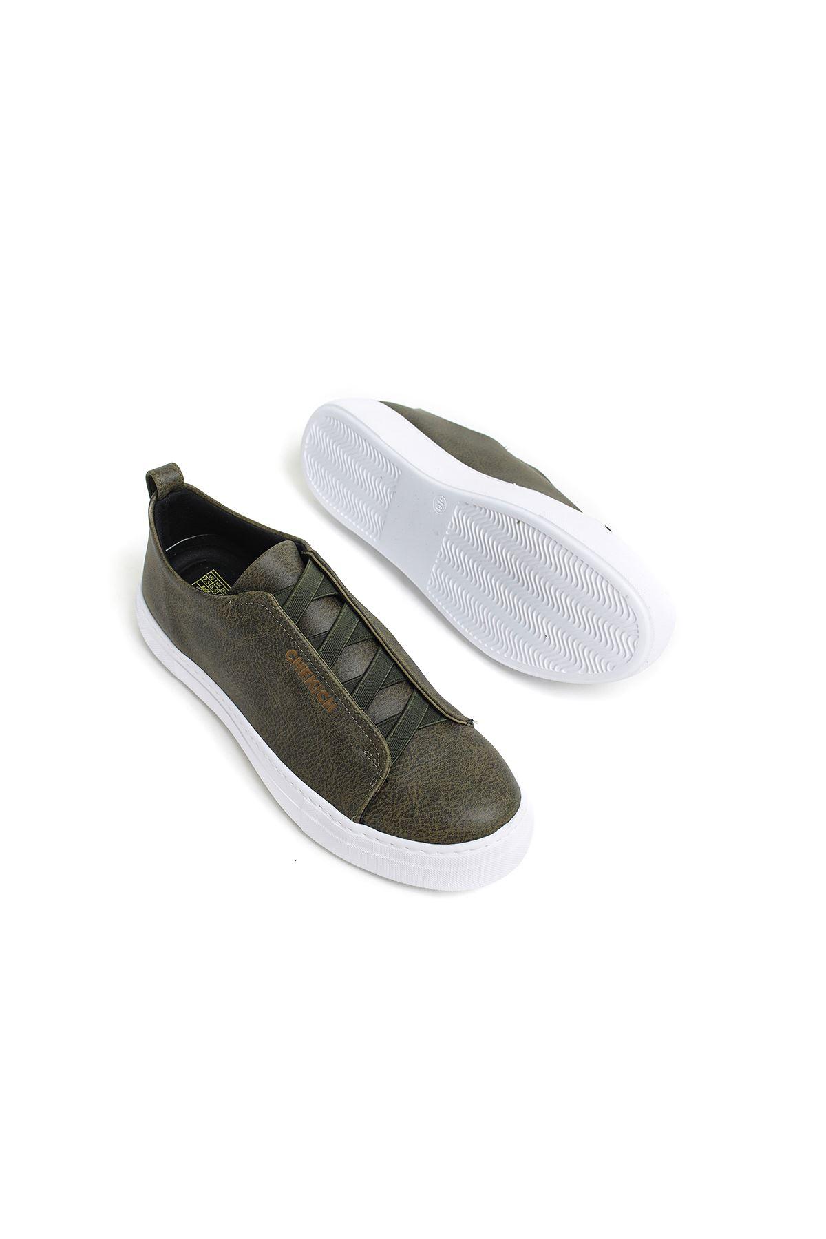 Chekich CH013 BT Erkek Ayakkabı HAKİ