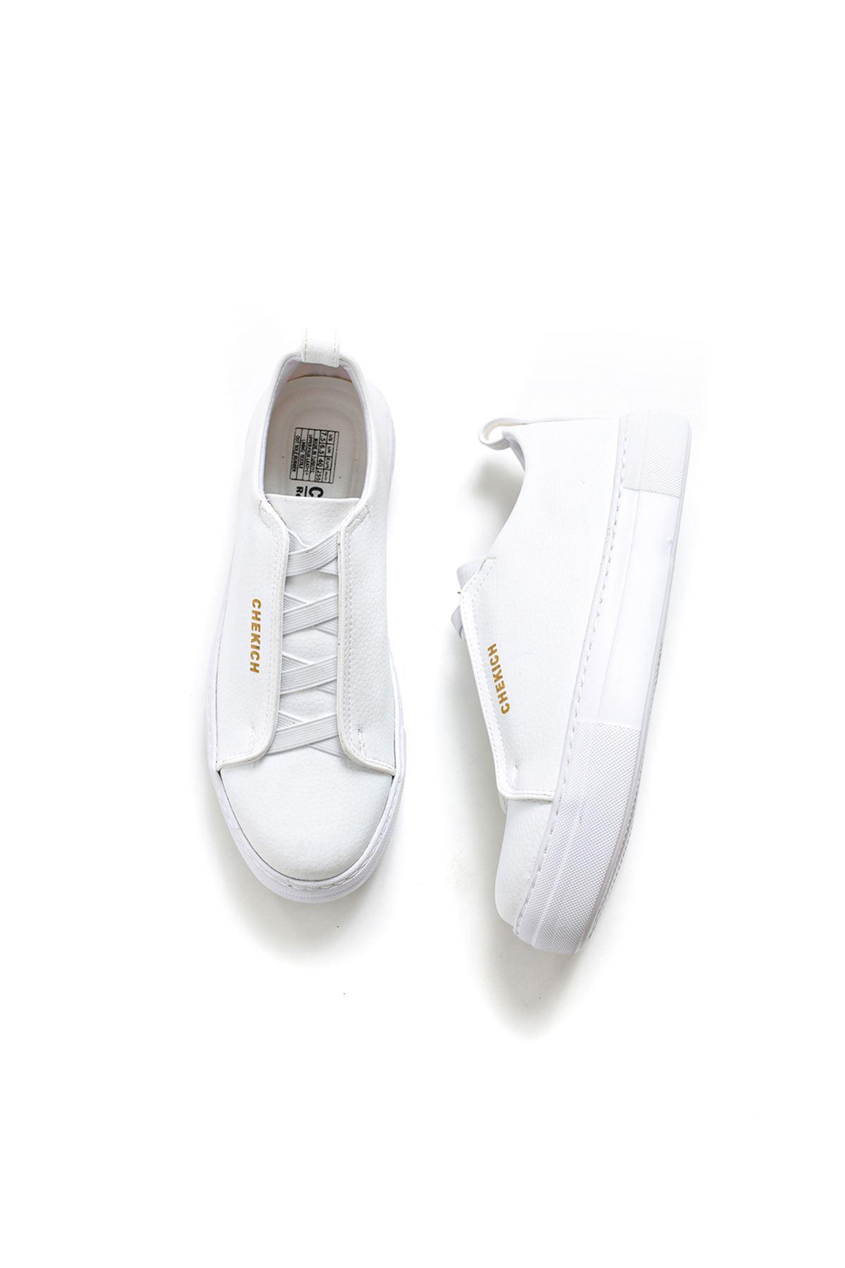 Chekich CH013 BT Erkek Ayakkabı BEYAZ