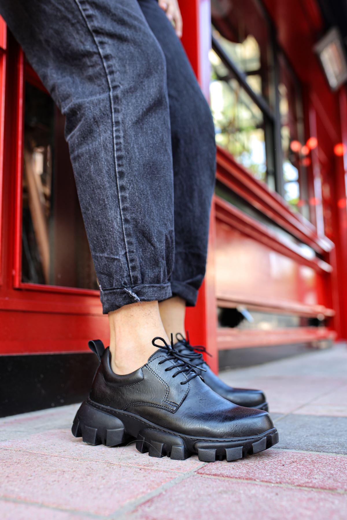 Chekich CH093 ST Erkek Ayakkabı SIYAH
