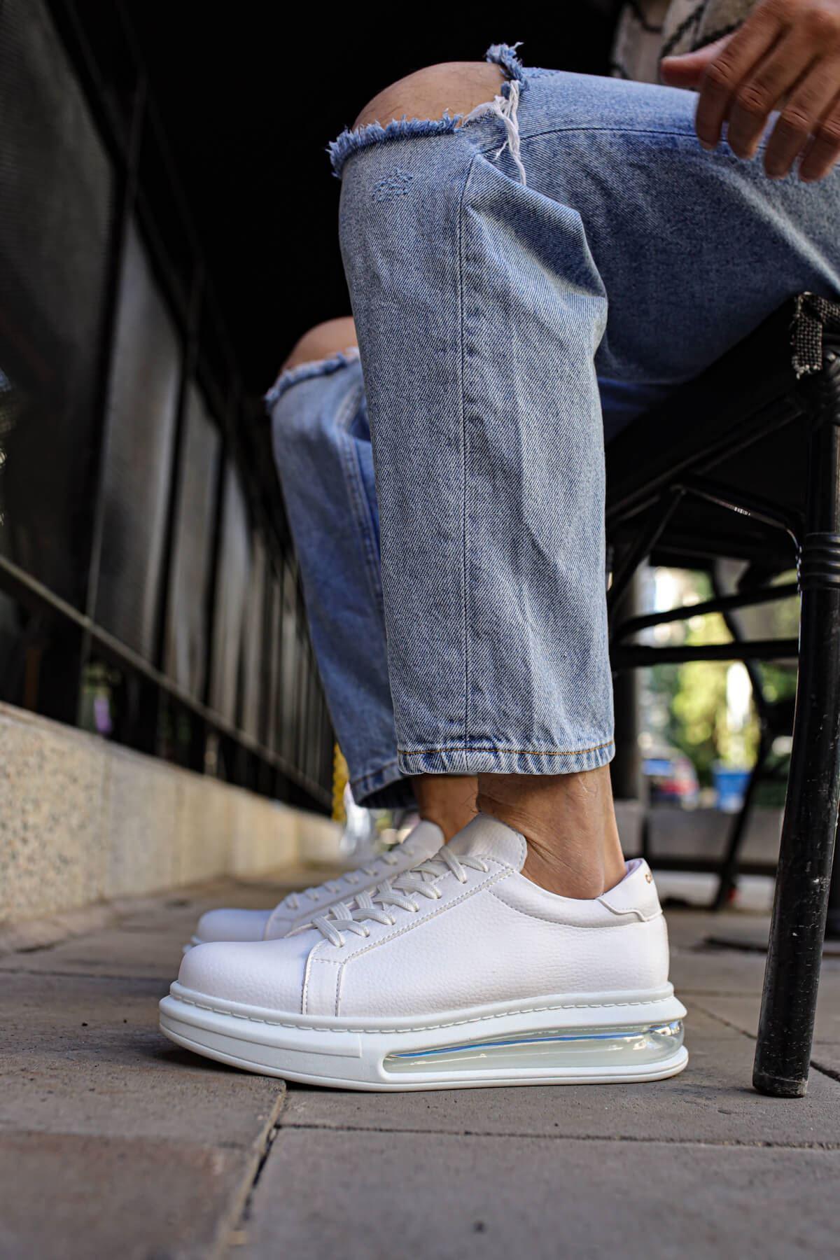 Chekich CH271 RRT Erkek Ayakkabı BEYAZ
