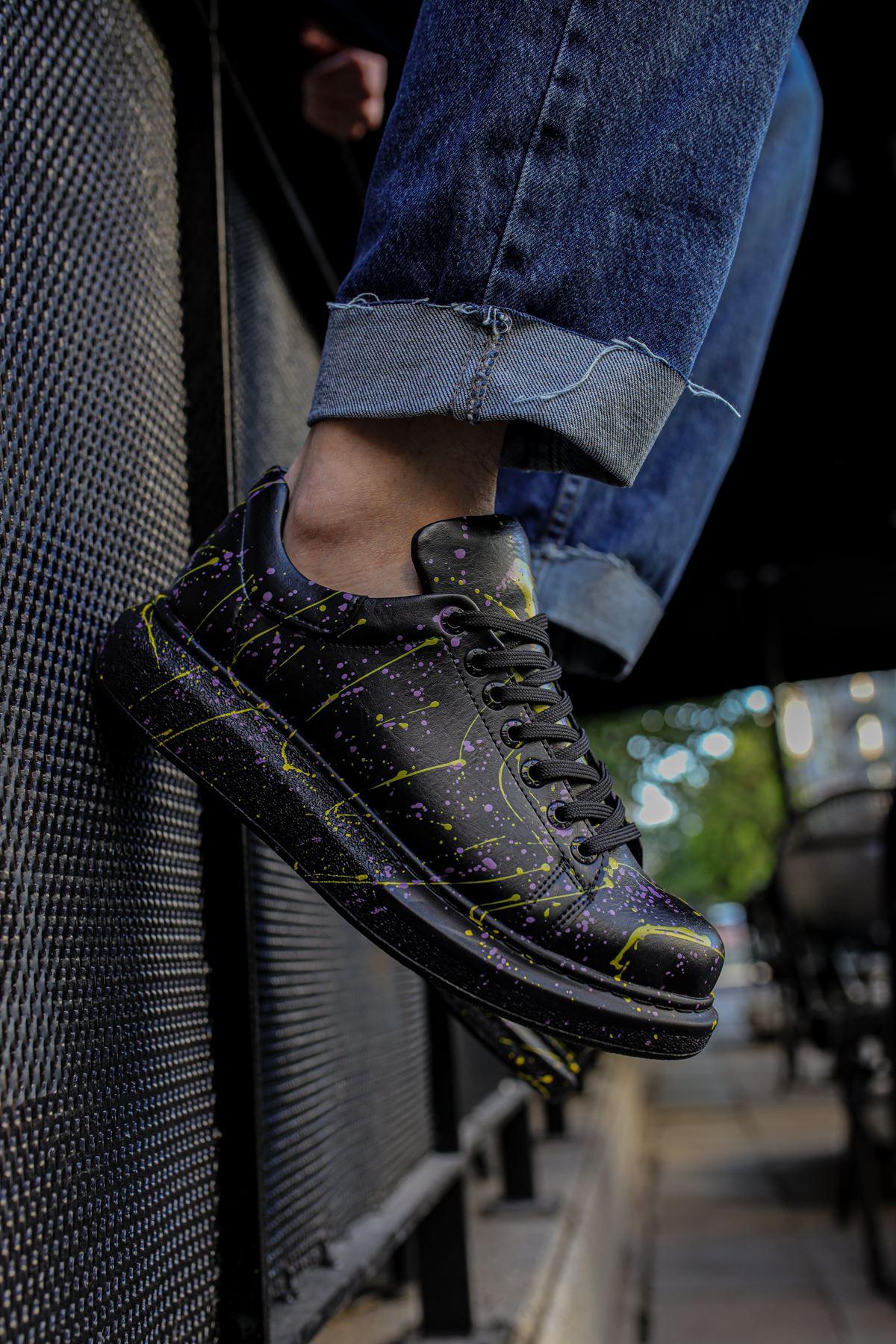 Chekich CH254 ST Erkek Ayakkabı 472 SARI / MOR